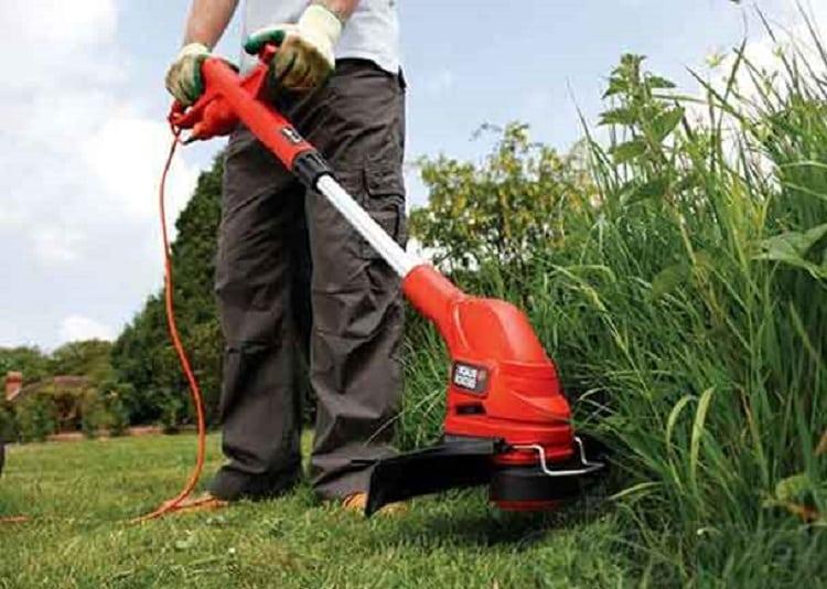 электрический триммер для травы модели